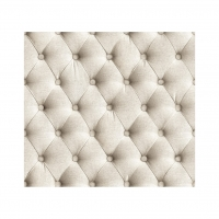 Twine linen tufted fabric wallpaper