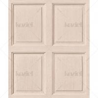 English wood panelling imitation wallpaper Latte