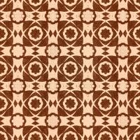 Premium wallpaper Aegean Tiles brown