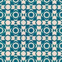 Premium wallpaper Aegean Tiles Turkish blue