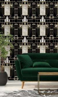 Glamour wallpaper dark