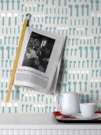 LAVMI wallpaper Together grey