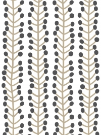 LAVMI wallpaper Hrbs grey and beige geometric figure on a beige background