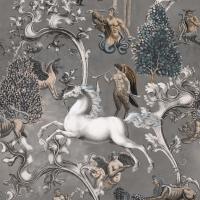 Premium wallpaper Imaginarium grey