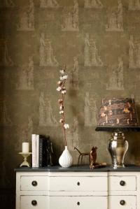 Premium wallpaper Sculptural moss