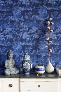 Premium wallpaper Asian Scenery