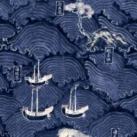 Premium wallpaper Waves of Tsushima