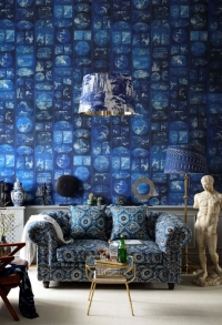 Premium wallpaper Aizome