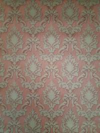 Bronze red classic vintage wallpaper