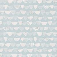 Miss Print wallpaper Allsorts blue