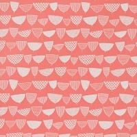 Miss Print wallpaper Allsorts red