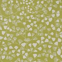 Miss Print wallpaper Fern green