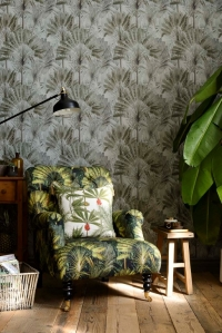 Premium wallpaper Traveller's Palm Neutral