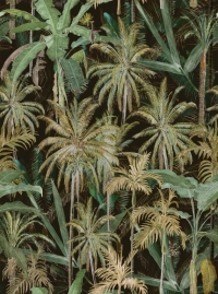 Premium wallpaper The Jungle Anthracite