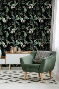 Premium wallpaper Palm Springs Anthracite