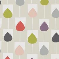 Scion Lohko wallpaper Sula pink purple grey green