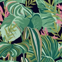 Premium wallpaper Tropical Foliage