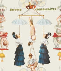 The Great Show Circus white