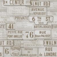 Street names beige