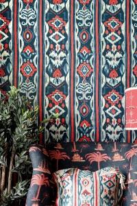 Premium wallpaper Mediterraneo Indigo