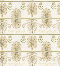 Premium wallpaper Mykonos villa taupe