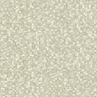 Mosaïc imitation wallpaper beige