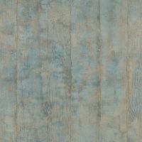 Blue-grey wood plank imitation wallpaper