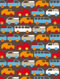 car bus truck kids wallpaper LAVMI Bruno