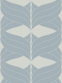 bleu figure on a light grey background