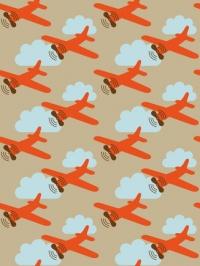 airplane kids wallpaper LAVMI