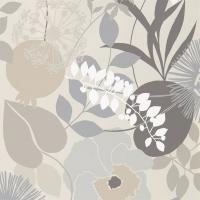 Harlequin wallpaper Doyenne grey-beige