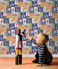 circus kids wallpaper