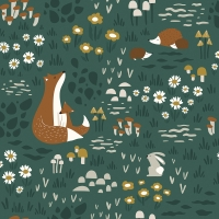 Lilipinso wallpaper animals in the forest
