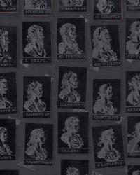 Premium wallpaper Emperors Anthracite