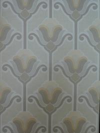 vintage wallpaper grey flowers