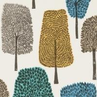 Scion Cedar wallpaper green-grey-blue