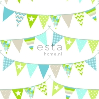 ESTA wallpapar flags green blue