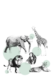 mural animals