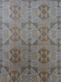 brown geometric vintage wallpaper