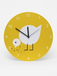 Clock kids hatchling yellow