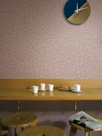 LAVMI wallpaper Atoms Chestnut