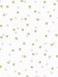 LAVMI wallpaper Atoms yellow