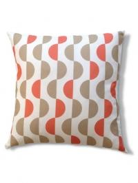Lentils beige red pillow