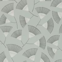 Miss Print wallpaper Persia grey