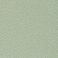 Miss Print wallpaper Chimes green