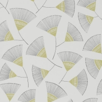 Miss Print wallpaper Persia grey green