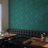 Mosaïc imitation wallpaper green