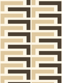 beige and brown lines