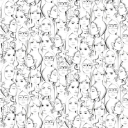 ESTA wallpaper faces
