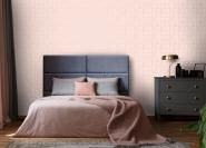 ESTA art deco wallpaper pink and gold